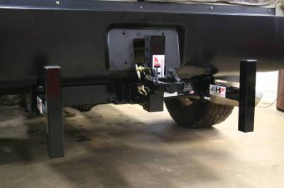 Big Hitch Products - BHP Clamp On Sled Stops - BELOW Roll Pan - Image 4
