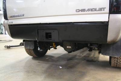 Big Hitch Products - BHP 99-18 GM 1500 Short Box BEHIND Roll Pan 2 inch Hidden Receiver Hitch - Image 2