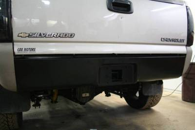 Big Hitch Products - BHP 99-18 GM 1500 Short Box BEHIND Roll Pan 2 inch Hidden Receiver Hitch - Image 3