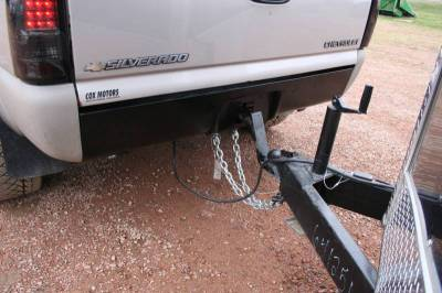 Big Hitch Products - BHP 99-18 GM 1500 Short Box BEHIND Roll Pan 2 inch Hidden Receiver Hitch - Image 5