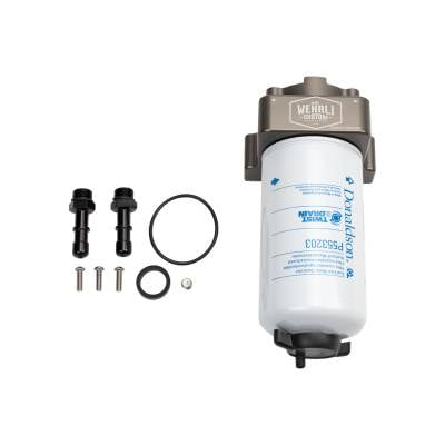Wehrli Custom Fabrication - 2020+ Short Bed L5P Duramax Fuel Filter Housing Kit