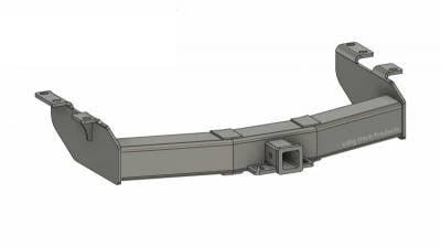 BHP 01-10 GM Stock Bumper 2 inch Receiver Hitch