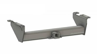 BHP 07.5-10 GM Long Box BELOW Roll Pan 2 inch Receiver Hitch
