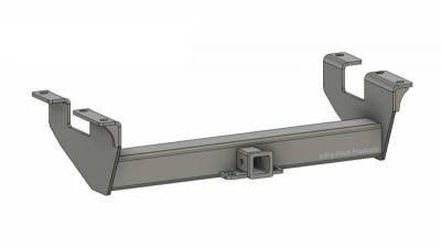 BHP 11-19 GM Long Box BELOW Roll Pan 2 inch Receiver Hitch