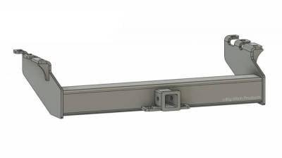 BHP 94-02 Dodge Short/Long Box BELOW Stock Bumper 2 inch Receiver Hitch