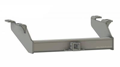 Big Hitch Products - BHP 99-16 Ford Short/Long Bed BELOW Stock Bumper 2 inch Receiver Hitch