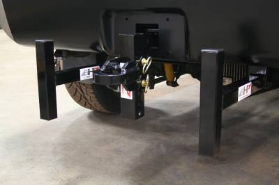 Big Hitch Products - BHP Clamp On Sled Stops - BEHIND Roll Pan - Image 4