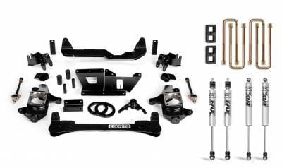 "Chassis & Suspension - Lift Kits - Cognito Motorsports - 2001-2010 Duramax Cognito - 4"" Standard Lift Kit"