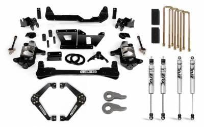 "Chassis & Suspension - Lift Kits - Cognito Motorsports - 2001-2010 LB7/LLY/LBZ/LMM Duramax Cognito - 6"" Standard Lift Kit"
