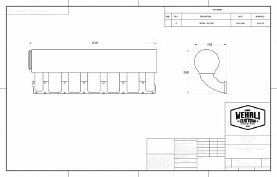 Wehrli Custom Fabrication - 5.9L and 6.7L Cummins Individual Runner Billet Intake Manifold - Image 7